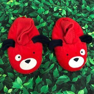 Boys Osh Kosh slippers | dog | 9-10 | large